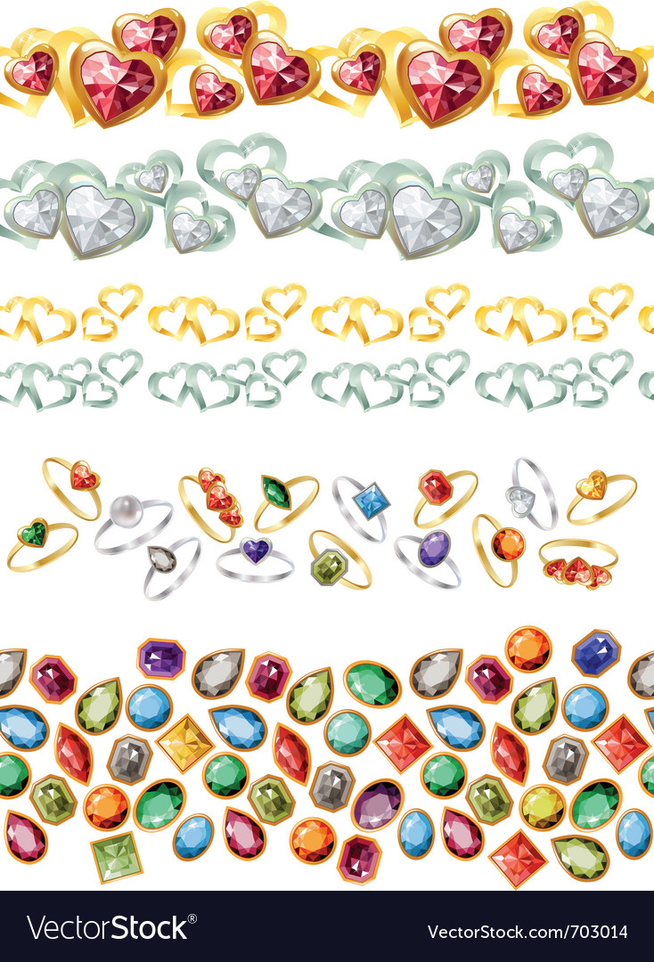 Jewelry gems vector | Price: 1 Credit (USD $1)