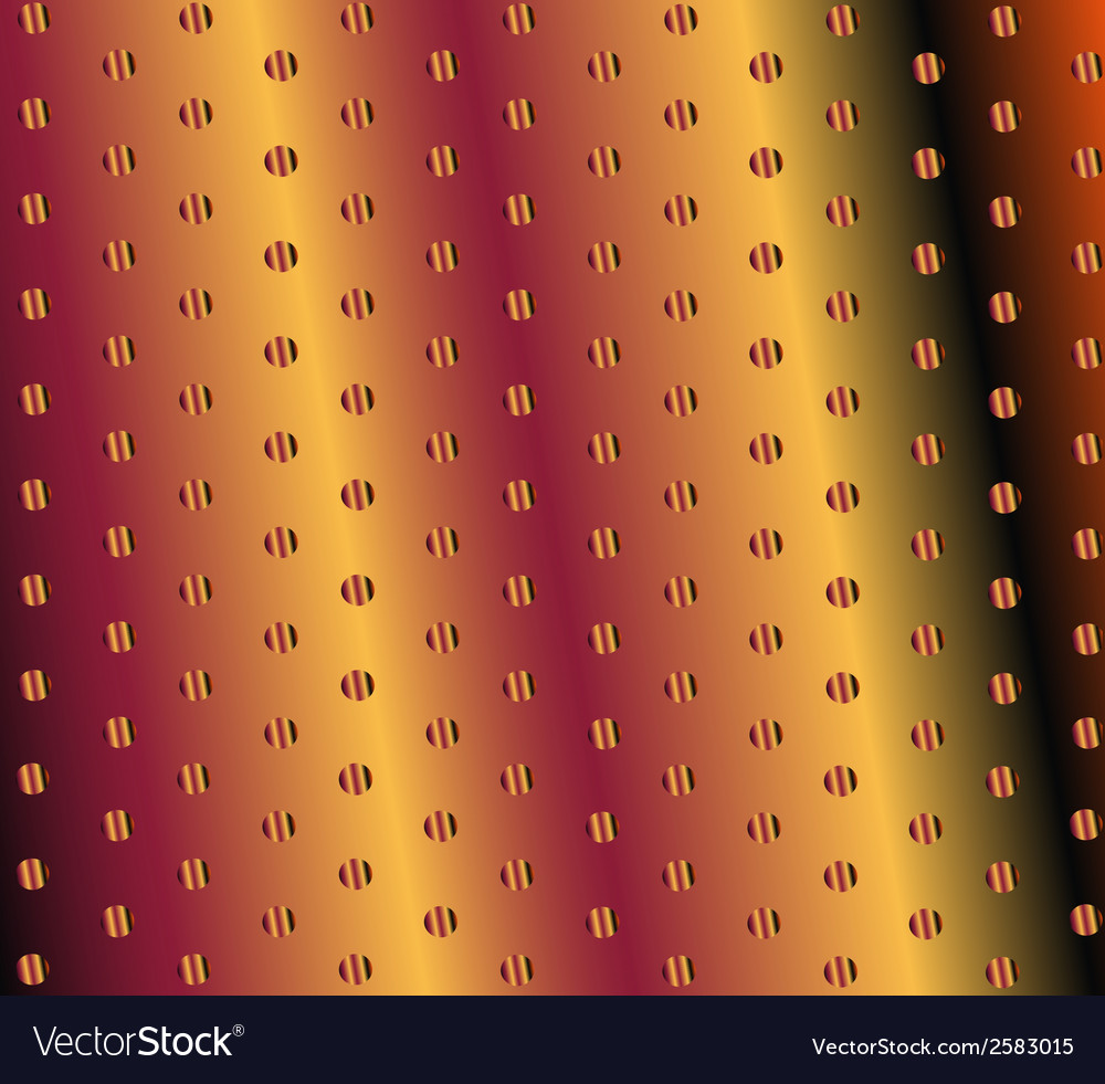 Metal background or texture of brushed gold plate vector | Price: 1 Credit (USD $1)
