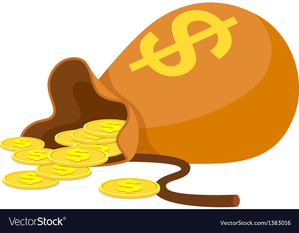 Icon money poket vector | Price: 1 Credit (USD $1)