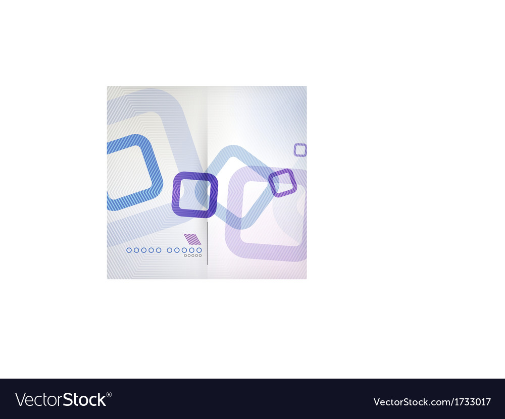 Abstract background geometric square shape vector