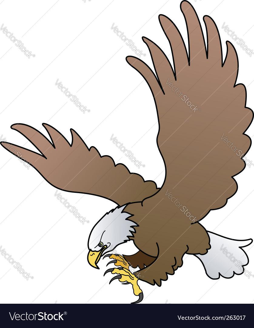 Bald eagle vector | Price: 1 Credit (USD $1)