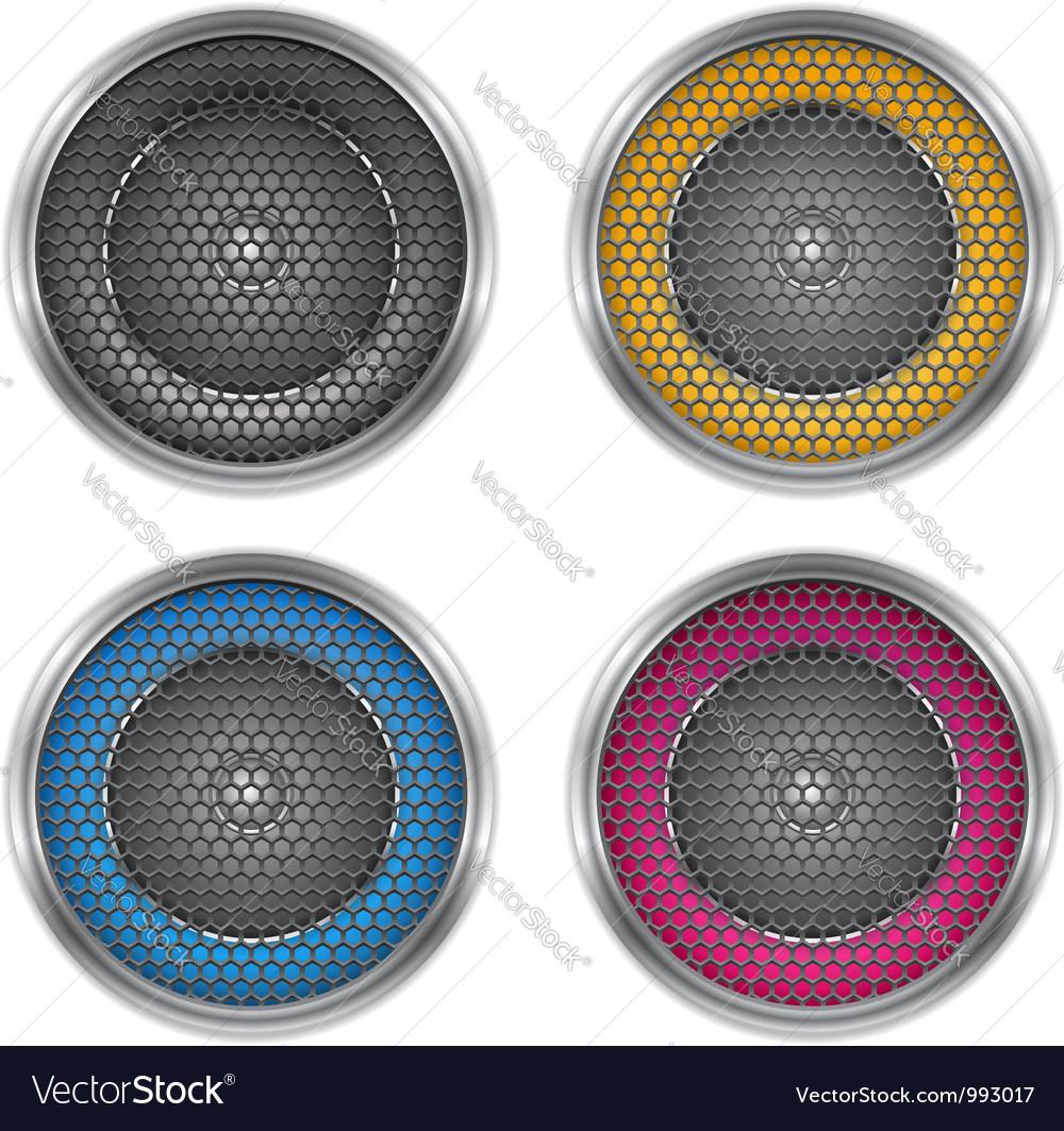 Sound speakers vector | Price: 1 Credit (USD $1)