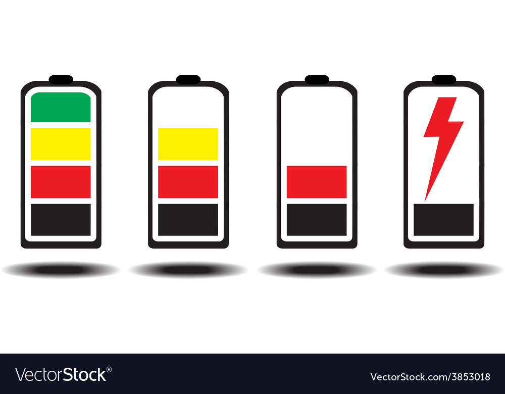 Battery icon design vector | Price: 1 Credit (USD $1)