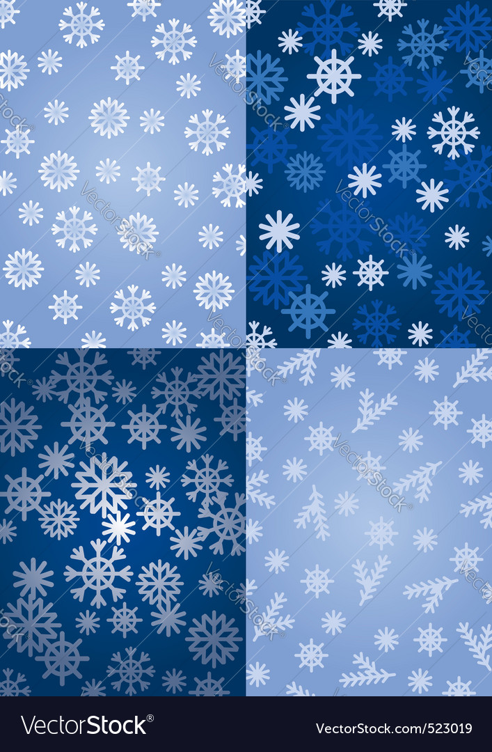 Background snowflakes vector | Price: 1 Credit (USD $1)