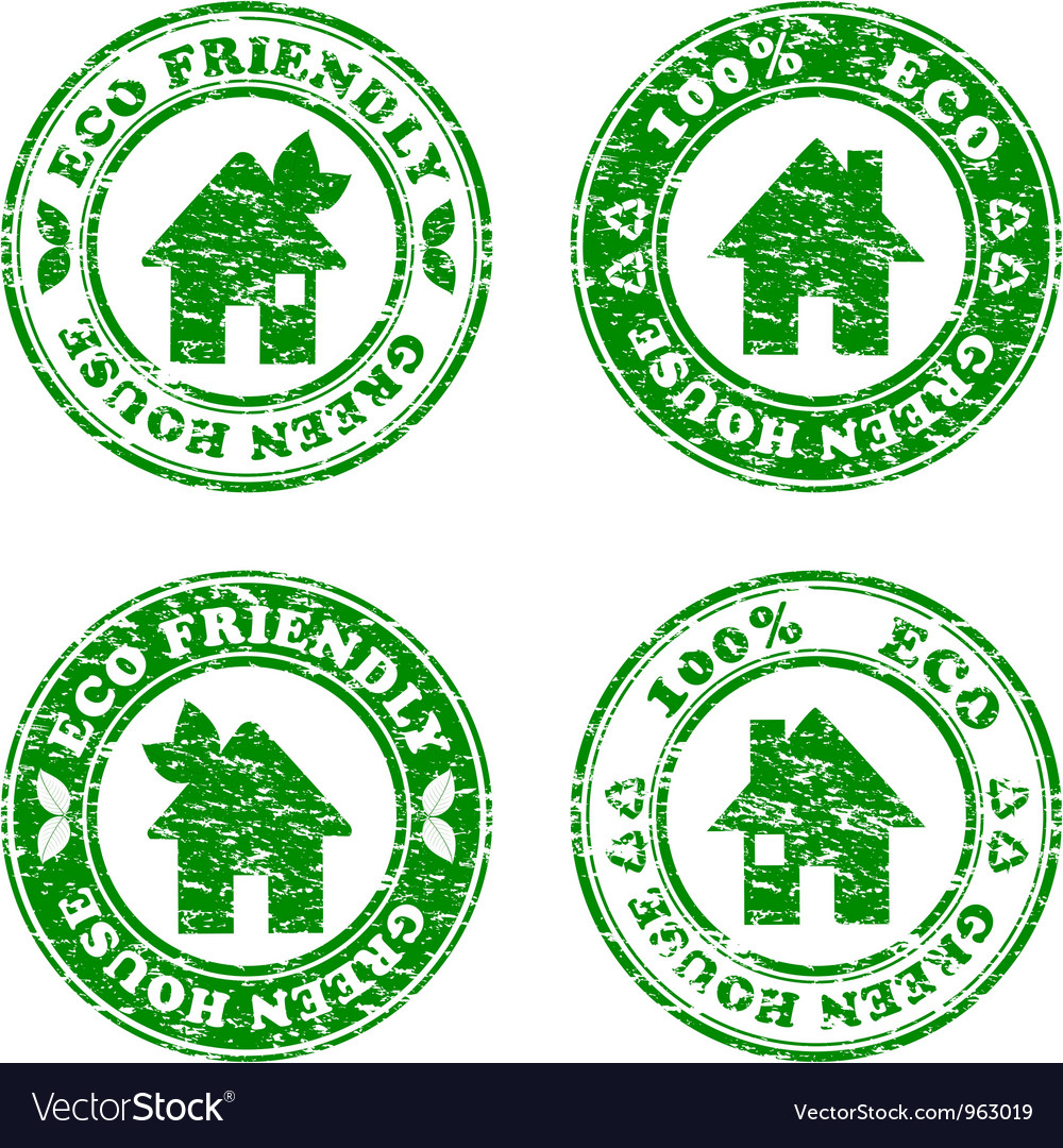 Grunge house stamp vector | Price: 1 Credit (USD $1)