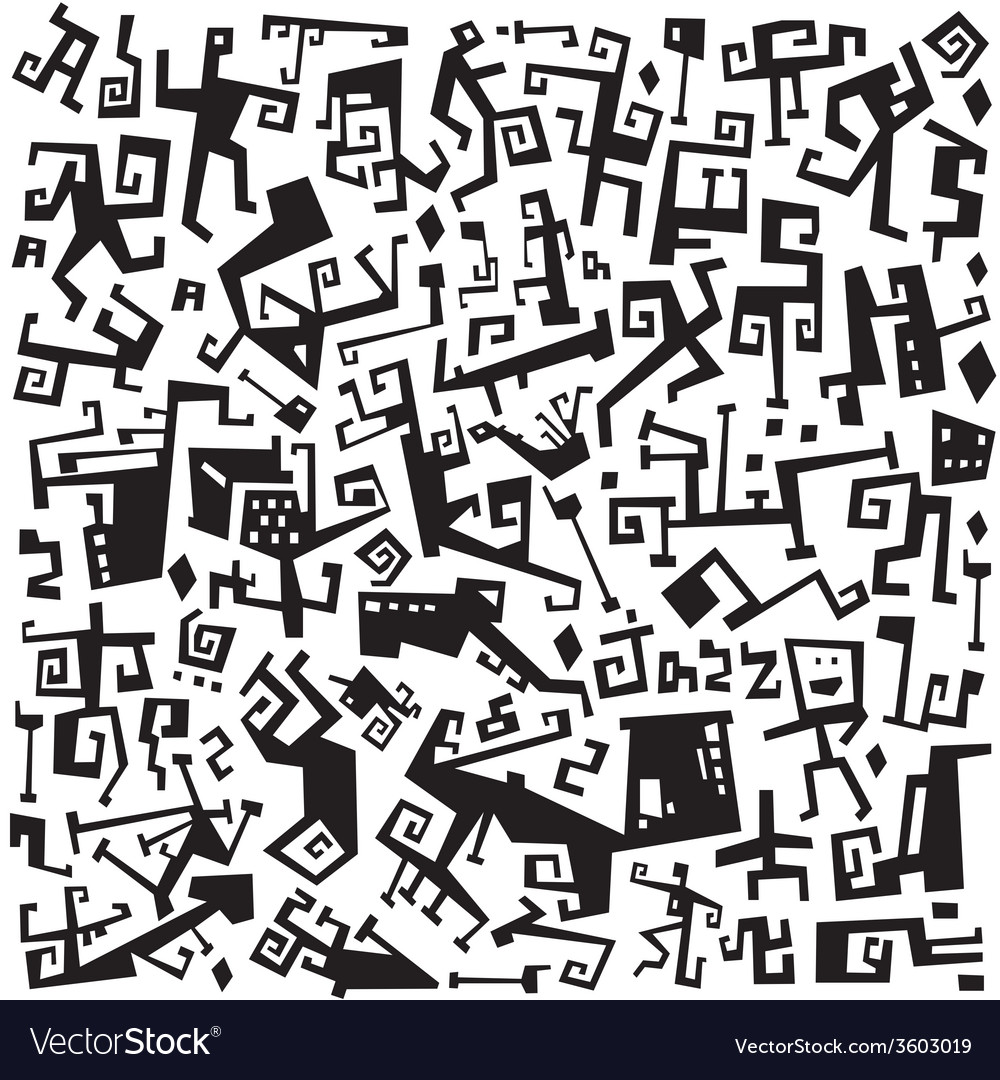 Jazz music - abstract symbols vector | Price: 1 Credit (USD $1)