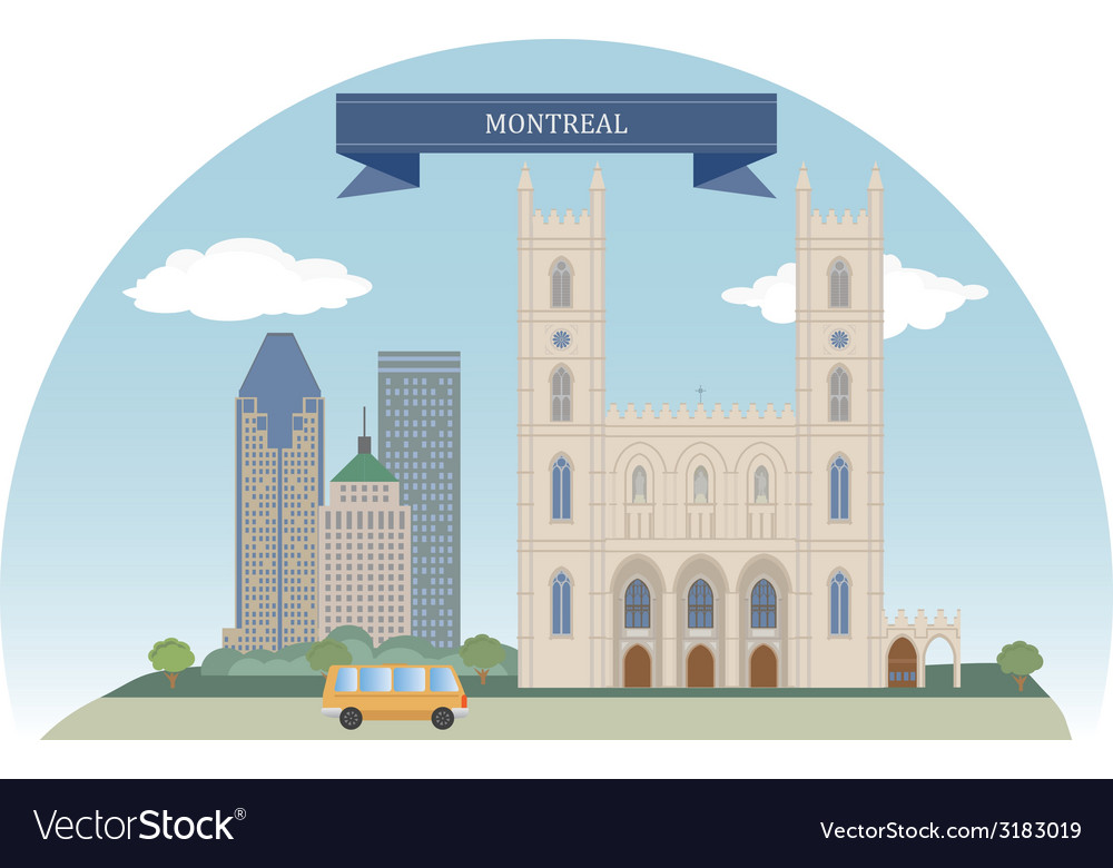 Montreal vector | Price: 1 Credit (USD $1)