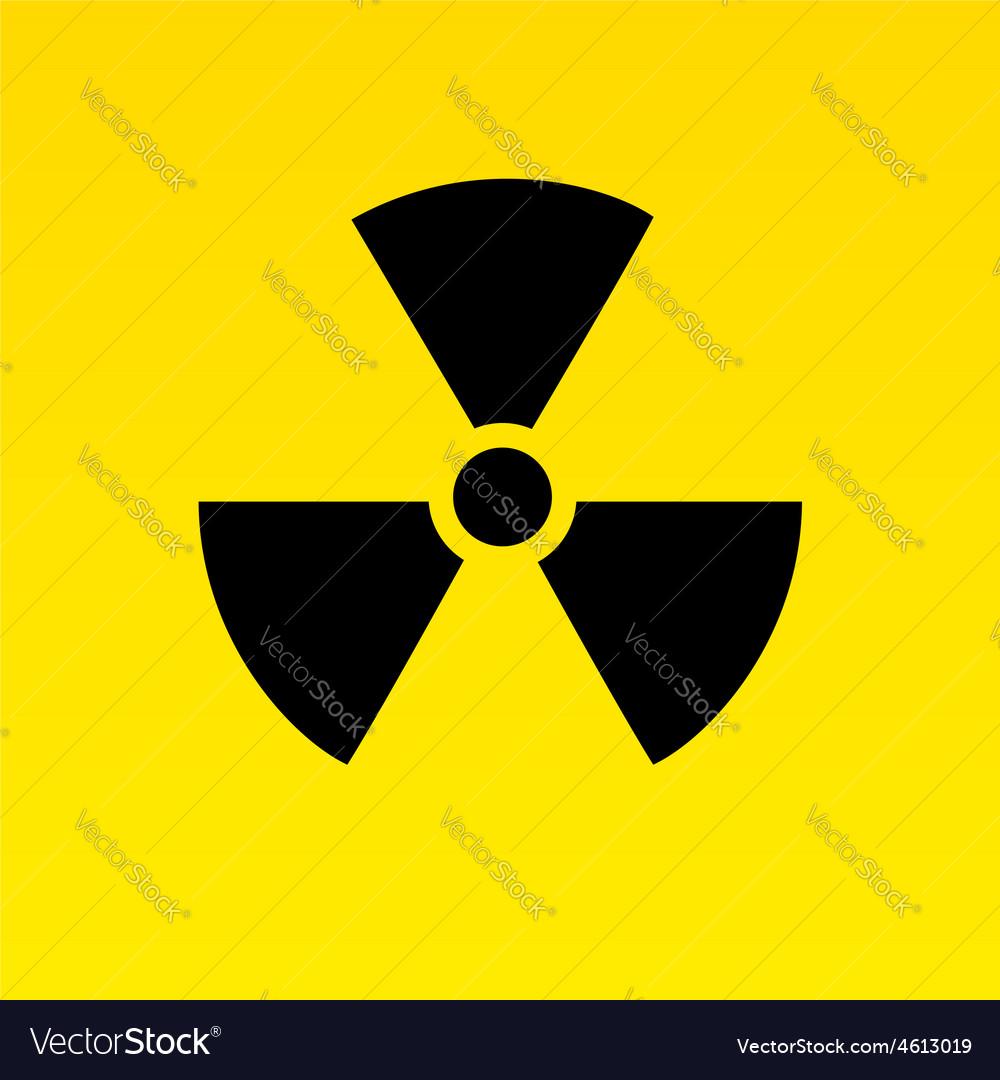Radiation hazard symbol vector   Price: 1 Credit (USD $1)