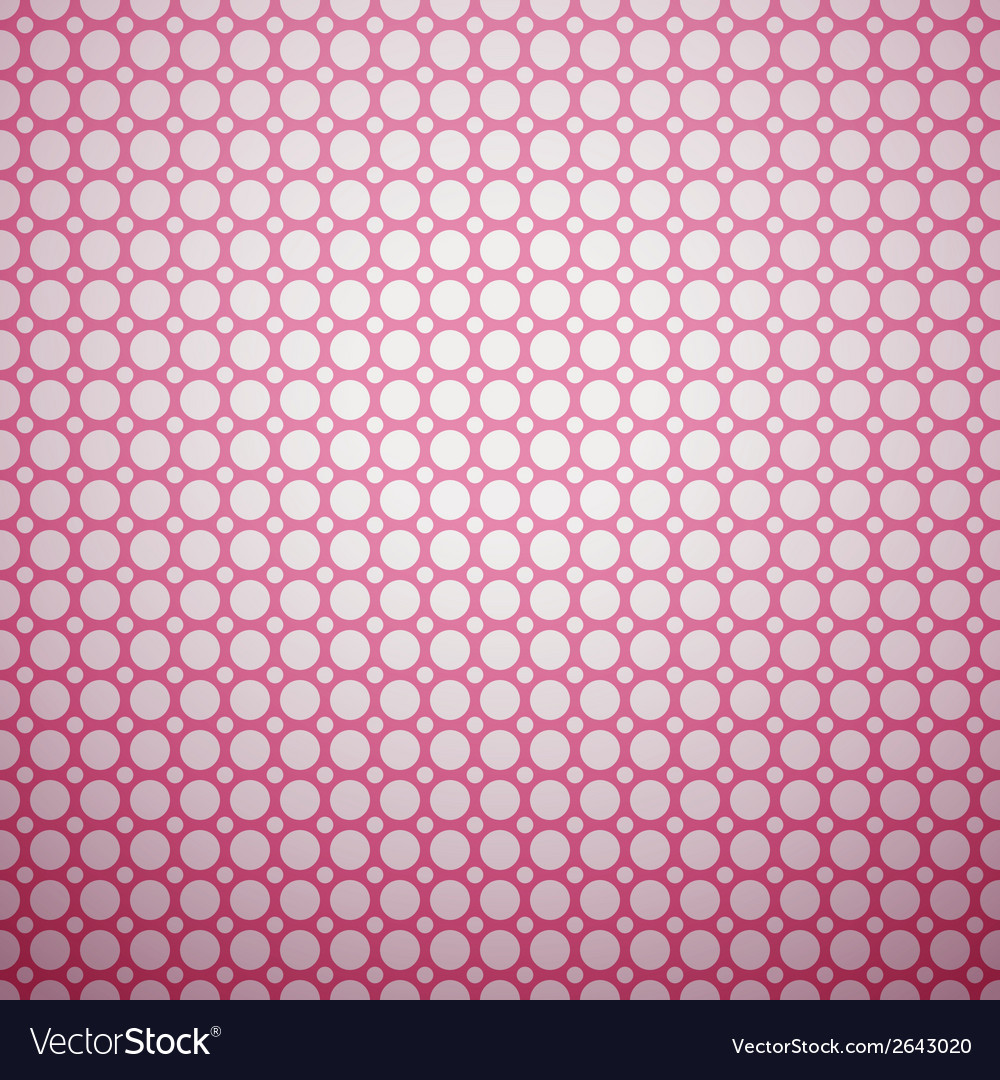 Beautiful pattern tiling pink and white colors vector | Price: 1 Credit (USD $1)