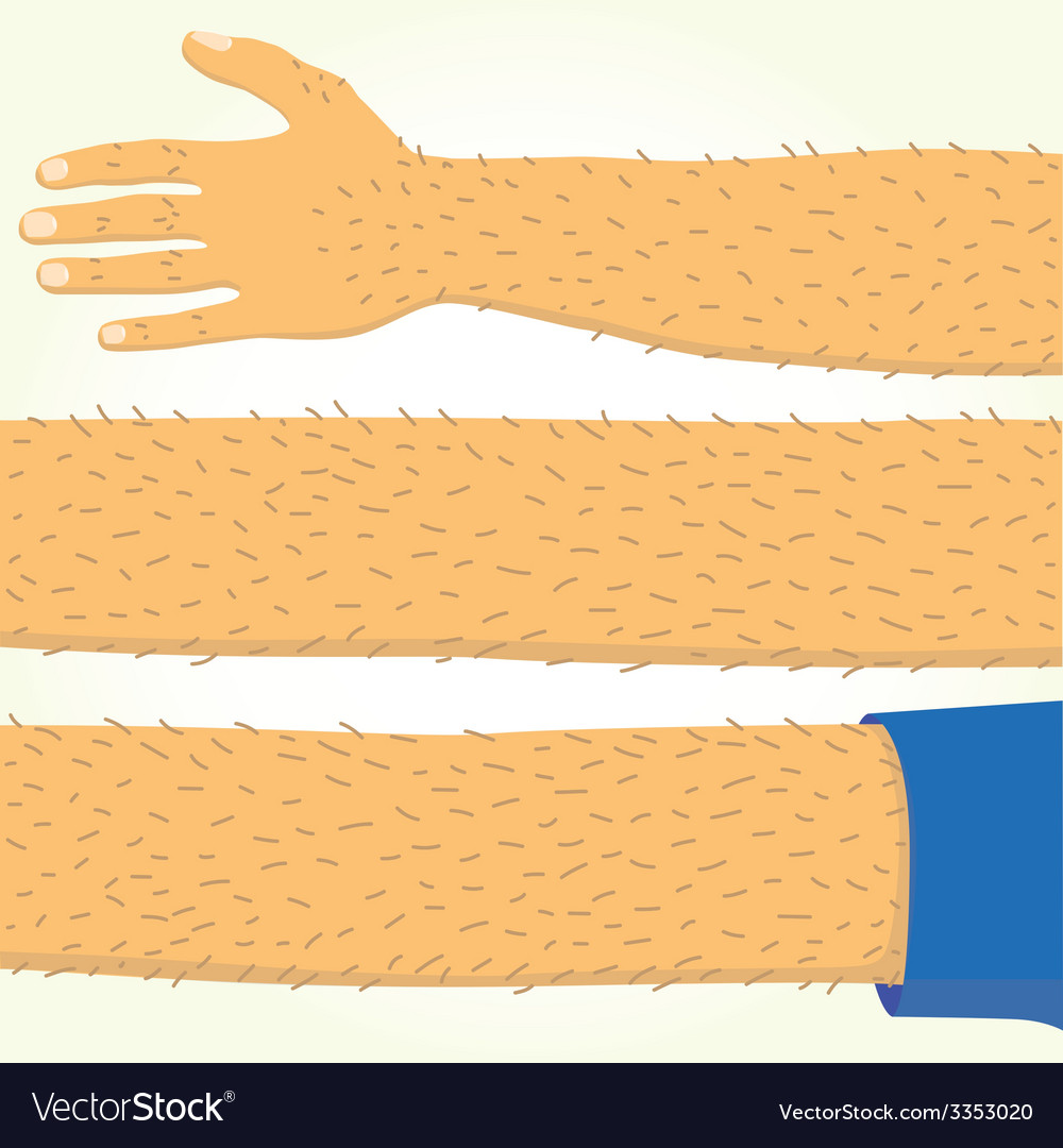 Long hand isolated vector | Price: 1 Credit (USD $1)