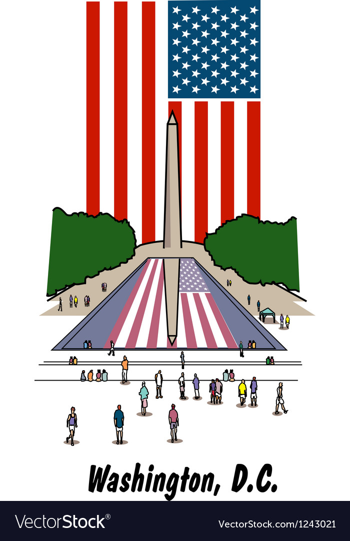 Washington dc vector | Price: 1 Credit (USD $1)