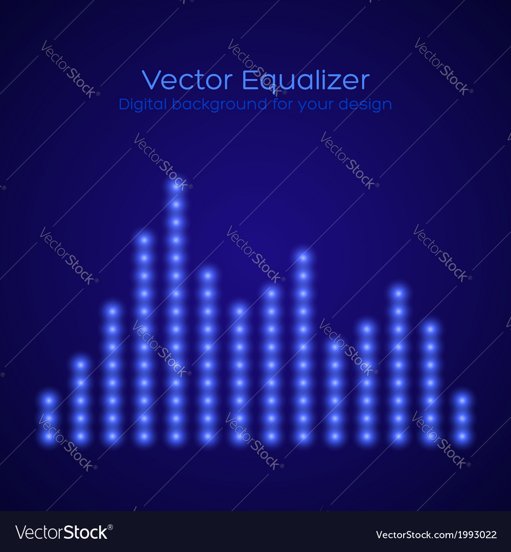 Equalizer vector | Price: 1 Credit (USD $1)
