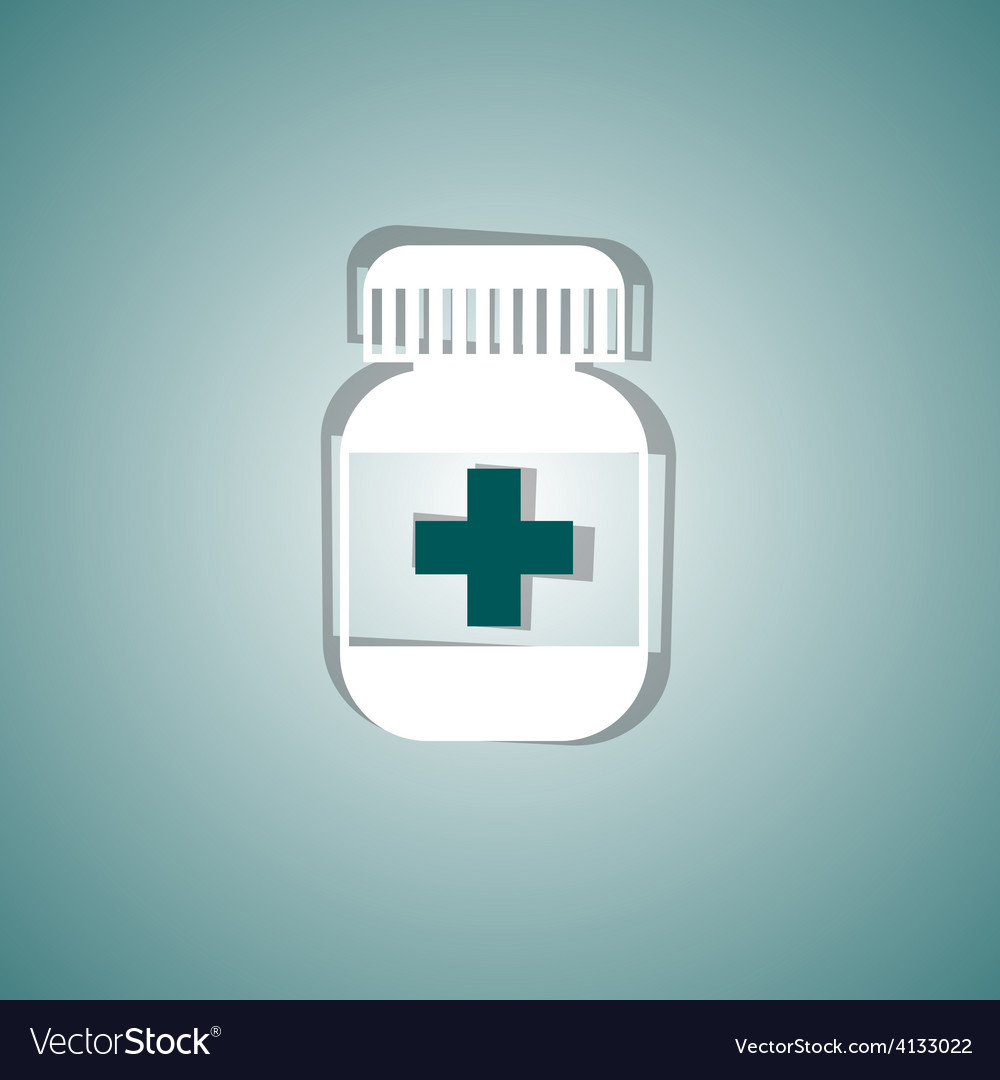 Medical pill vector | Price: 1 Credit (USD $1)