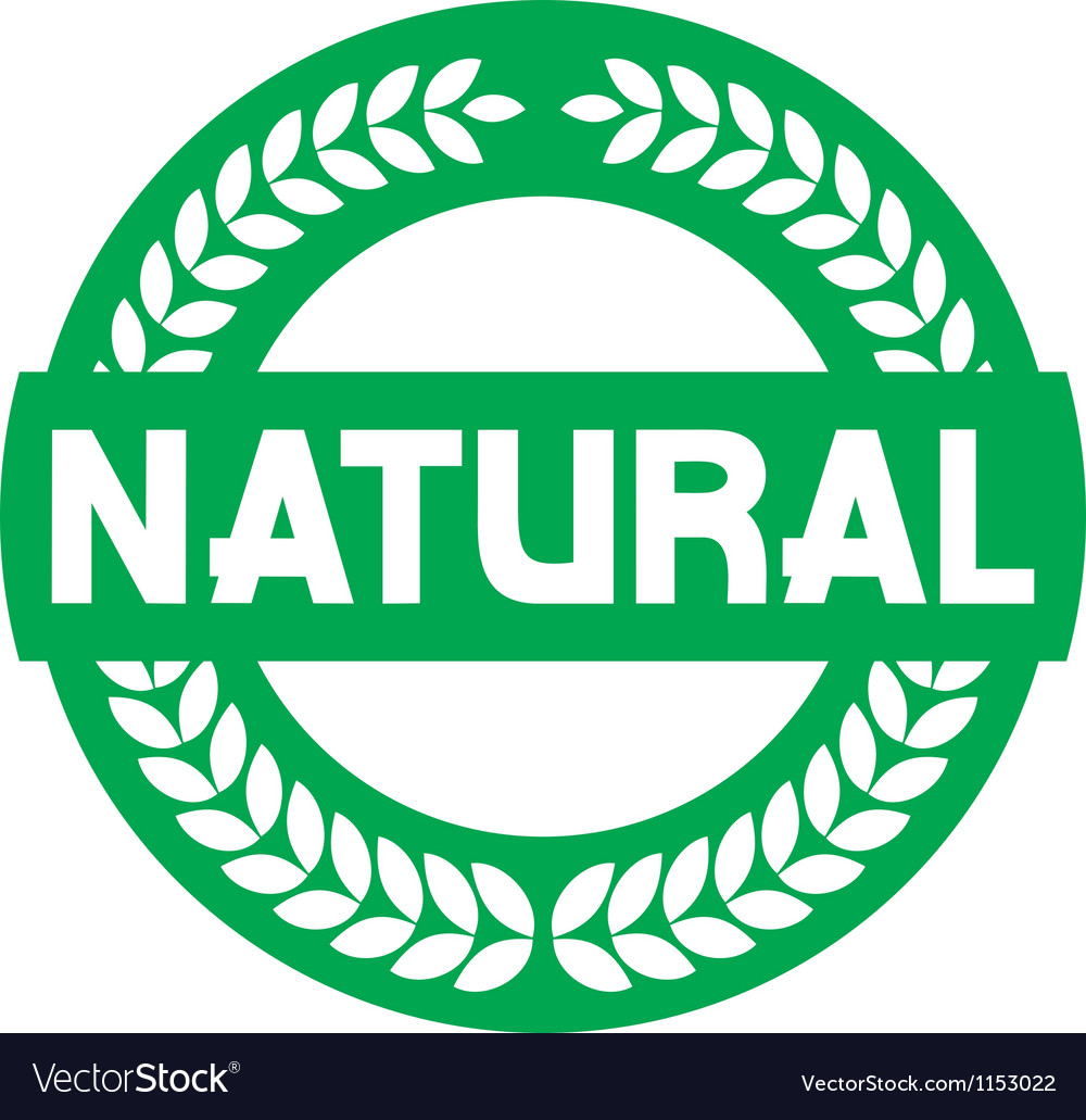Natural label vector | Price: 1 Credit (USD $1)