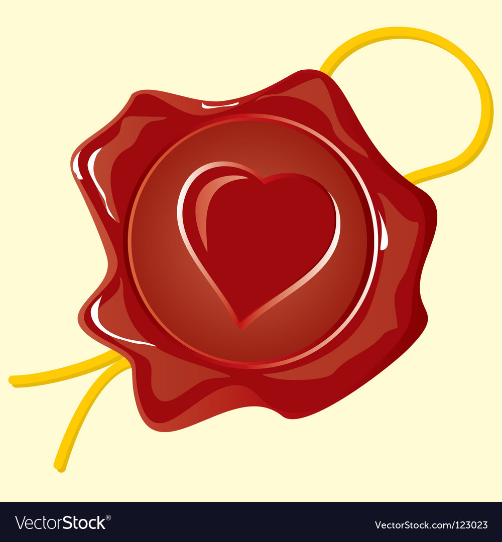 Wafer heart vector | Price: 1 Credit (USD $1)