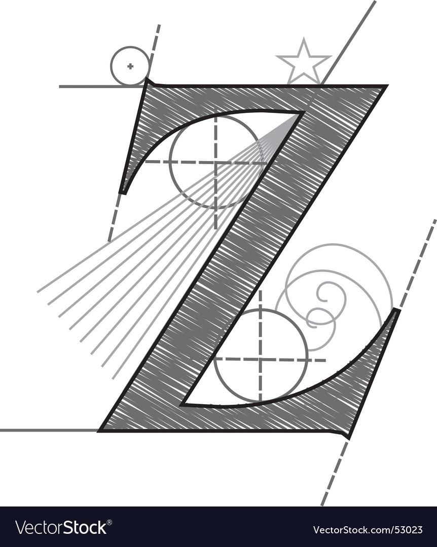 Z vector | Price: 1 Credit (USD $1)