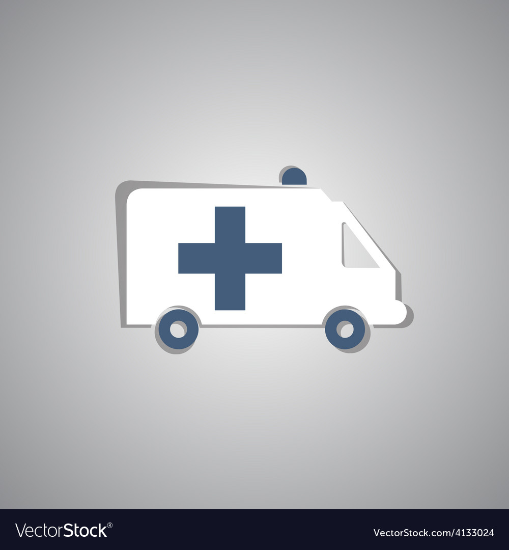 Ambulance vector | Price: 1 Credit (USD $1)