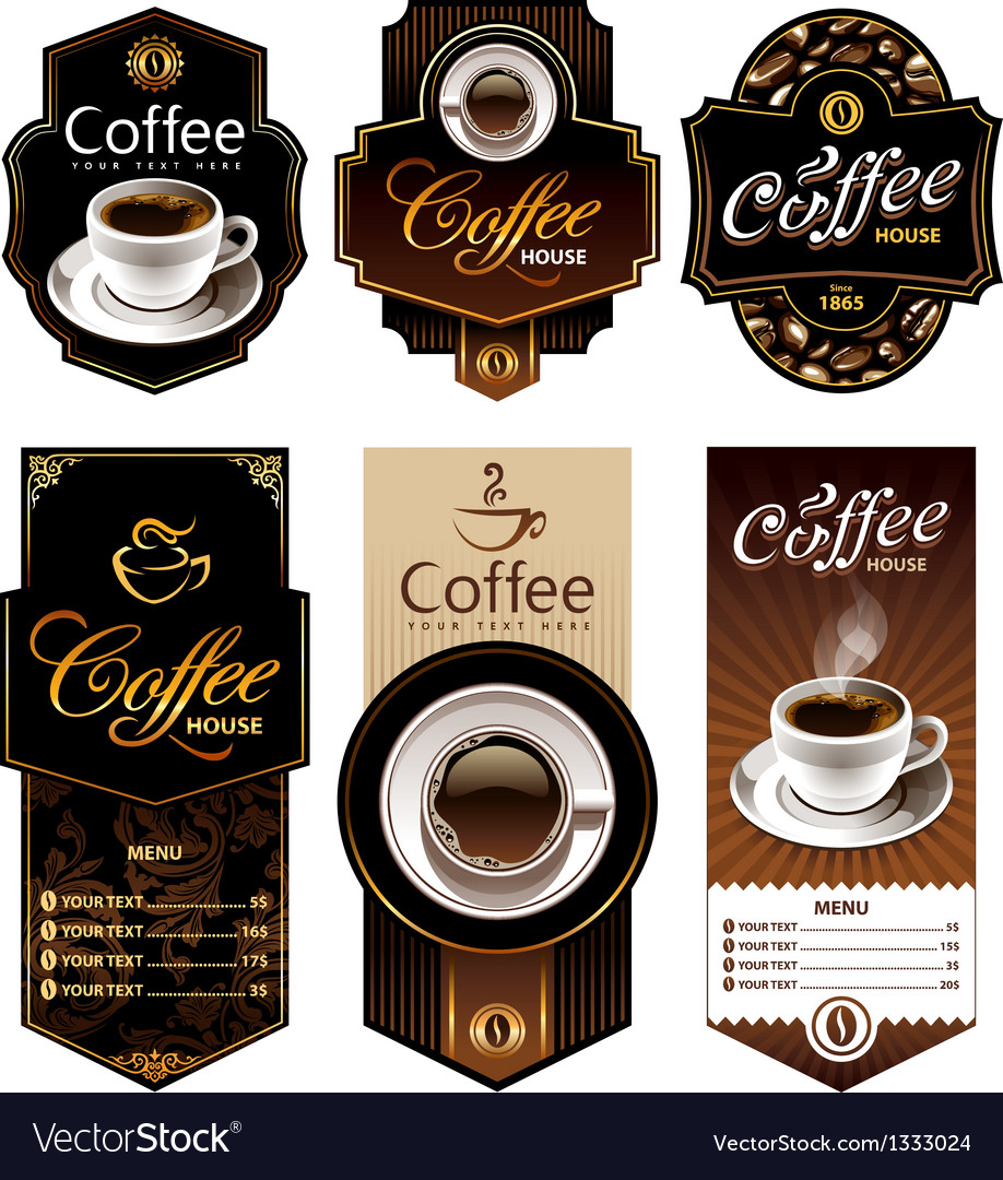 Coffee banners 1 vector | Price: 3 Credit (USD $3)