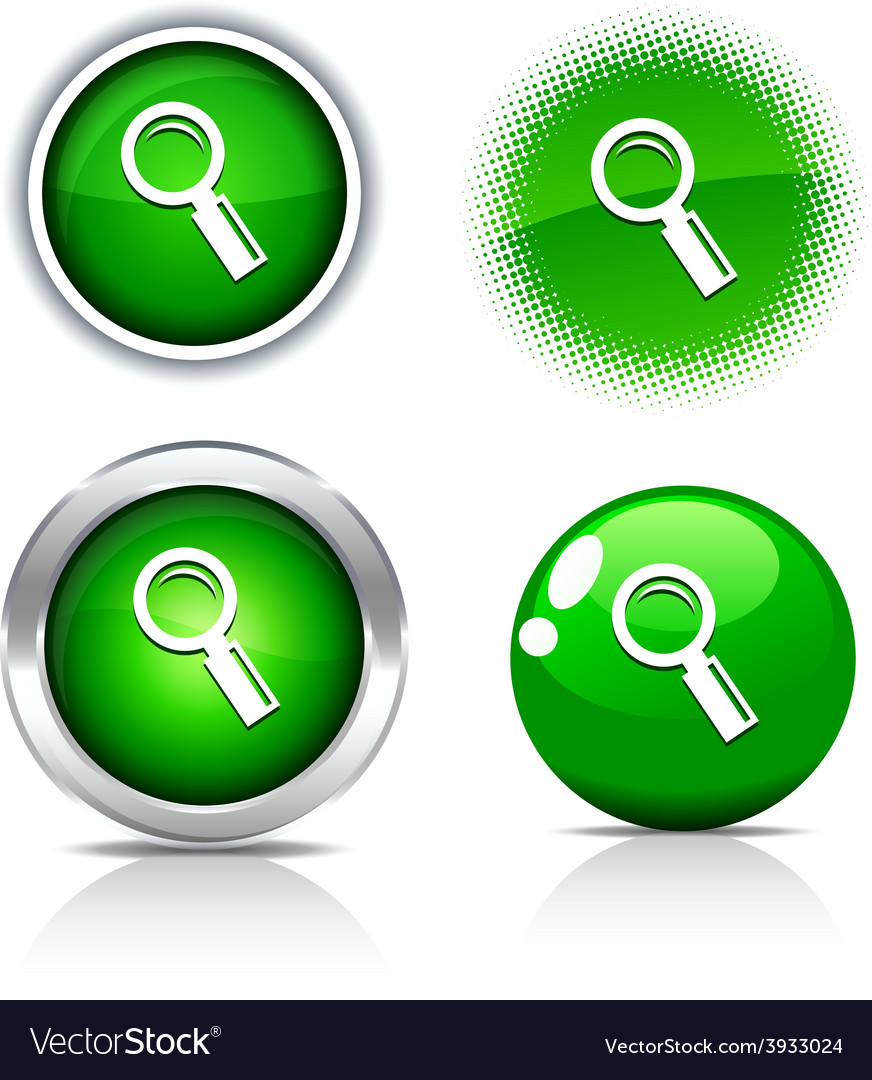 Searching buttons vector | Price: 1 Credit (USD $1)