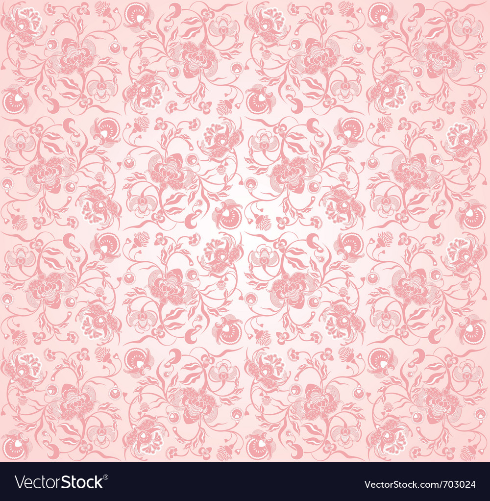 Valentin pinky floral design vector | Price: 1 Credit (USD $1)