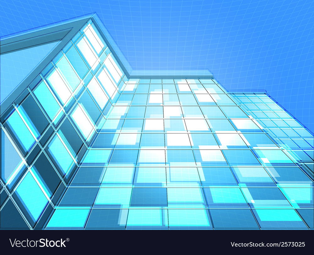 Architecture abstract background vector | Price: 1 Credit (USD $1)