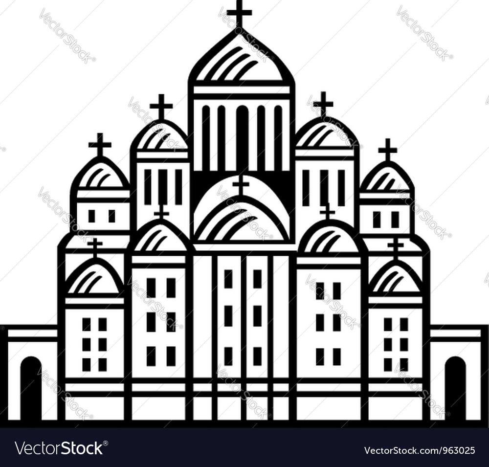 Church vector | Price: 1 Credit (USD $1)