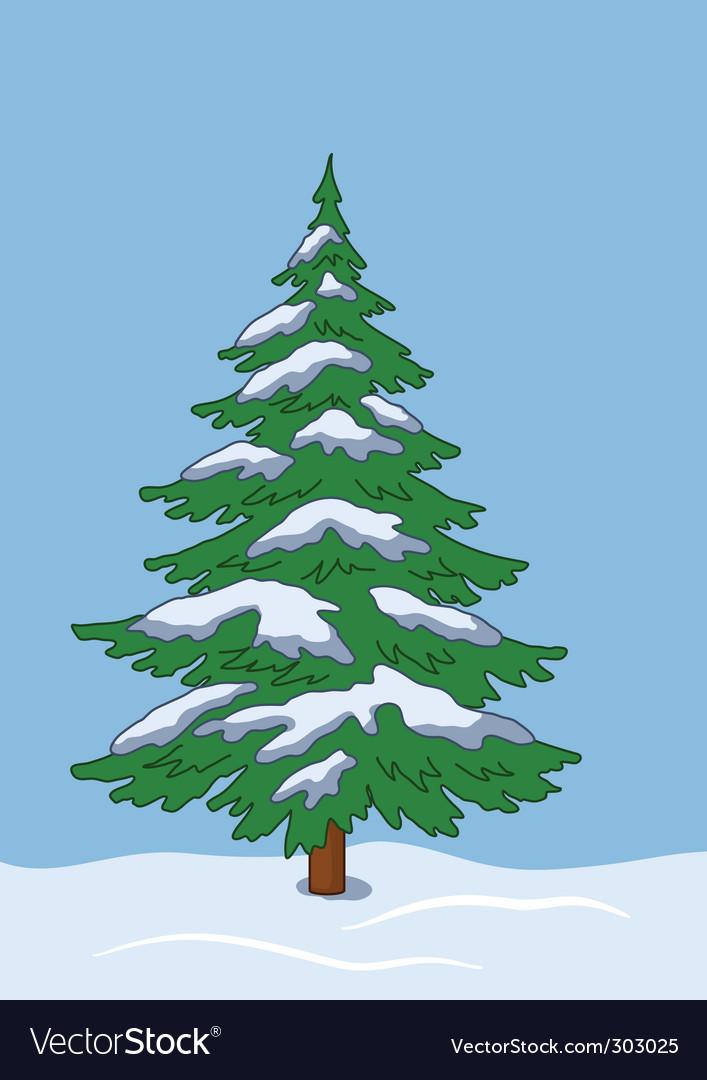 Fir tree vector   Price: 1 Credit (USD $1)