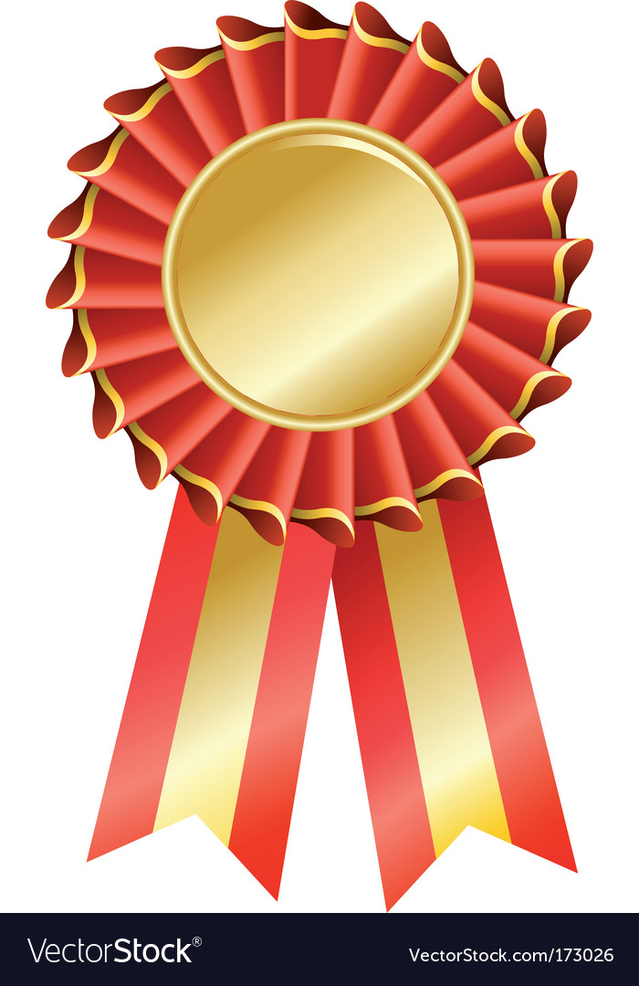 Award seal rosette vector | Price: 1 Credit (USD $1)