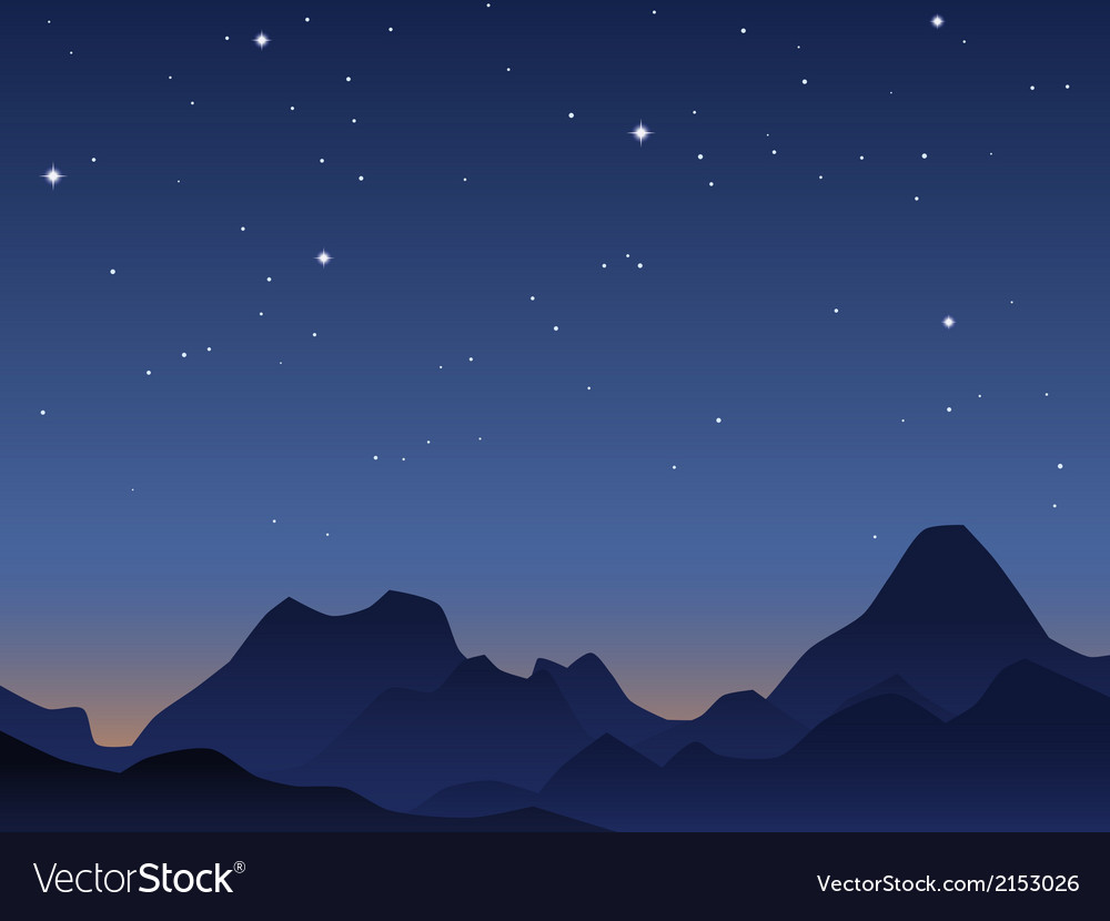 Dawn sky vector | Price: 1 Credit (USD $1)