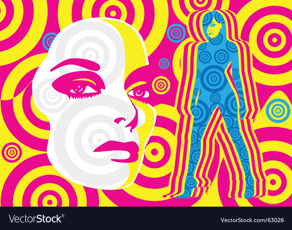 Sixties vector | Price: 1 Credit (USD $1)