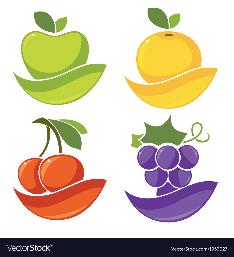 Fresh fruits vector | Price: 1 Credit (USD $1)