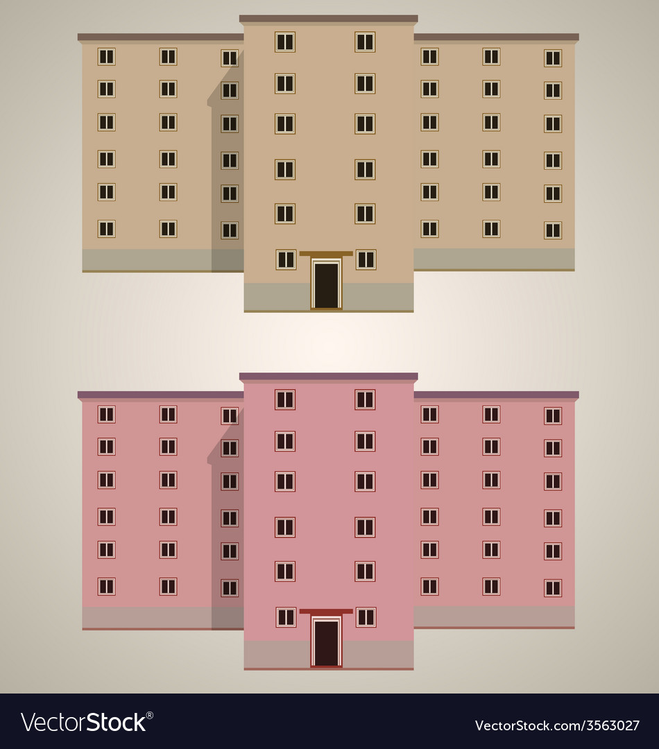 Modern building 3 vector | Price: 1 Credit (USD $1)