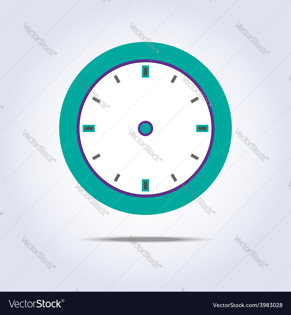 Abstract chronometer icon green color vector | Price: 1 Credit (USD $1)
