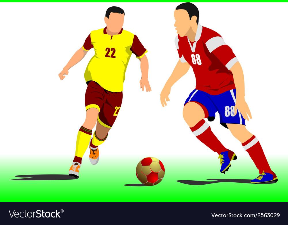 Al 1103 soccer 01 vector | Price: 1 Credit (USD $1)