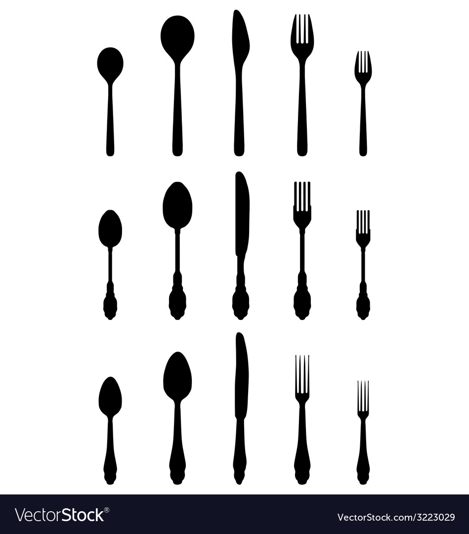 Cutlery 2 vector | Price: 1 Credit (USD $1)