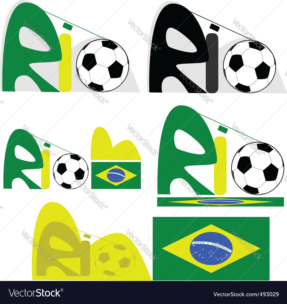 Rio de janeiro graphic vector | Price: 1 Credit (USD $1)