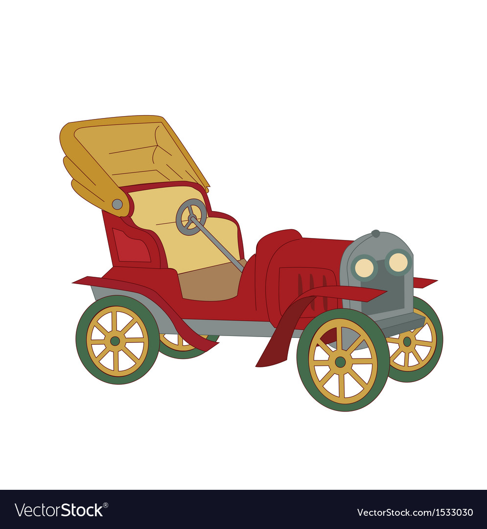 A classic vintage car vector | Price: 1 Credit (USD $1)