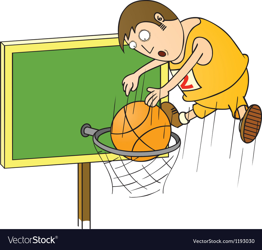 Basketball master vector | Price: 1 Credit (USD $1)