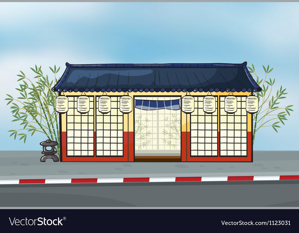 A japanese restaurant vector | Price: 1 Credit (USD $1)