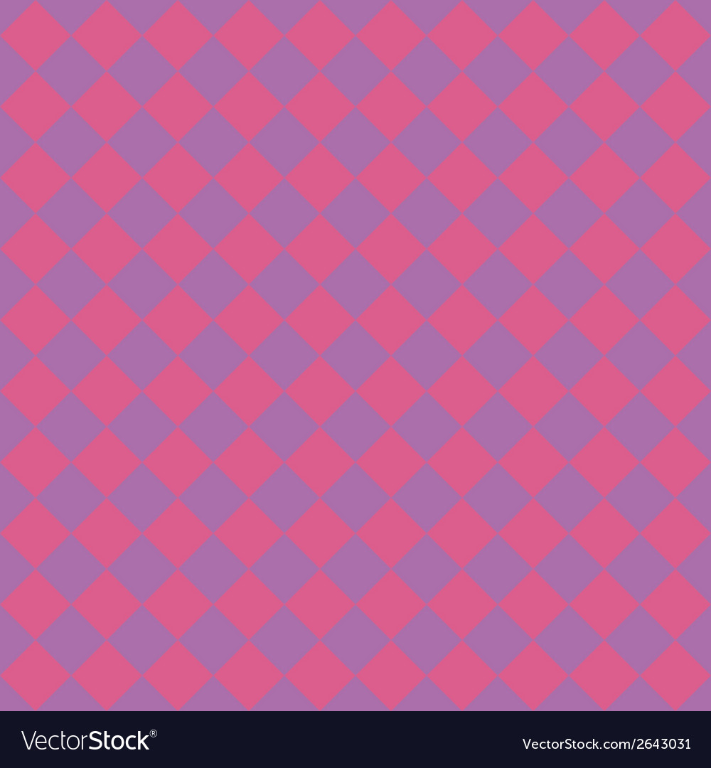 Beautiful seamless pattern tiling pink and purple vector | Price: 1 Credit (USD $1)
