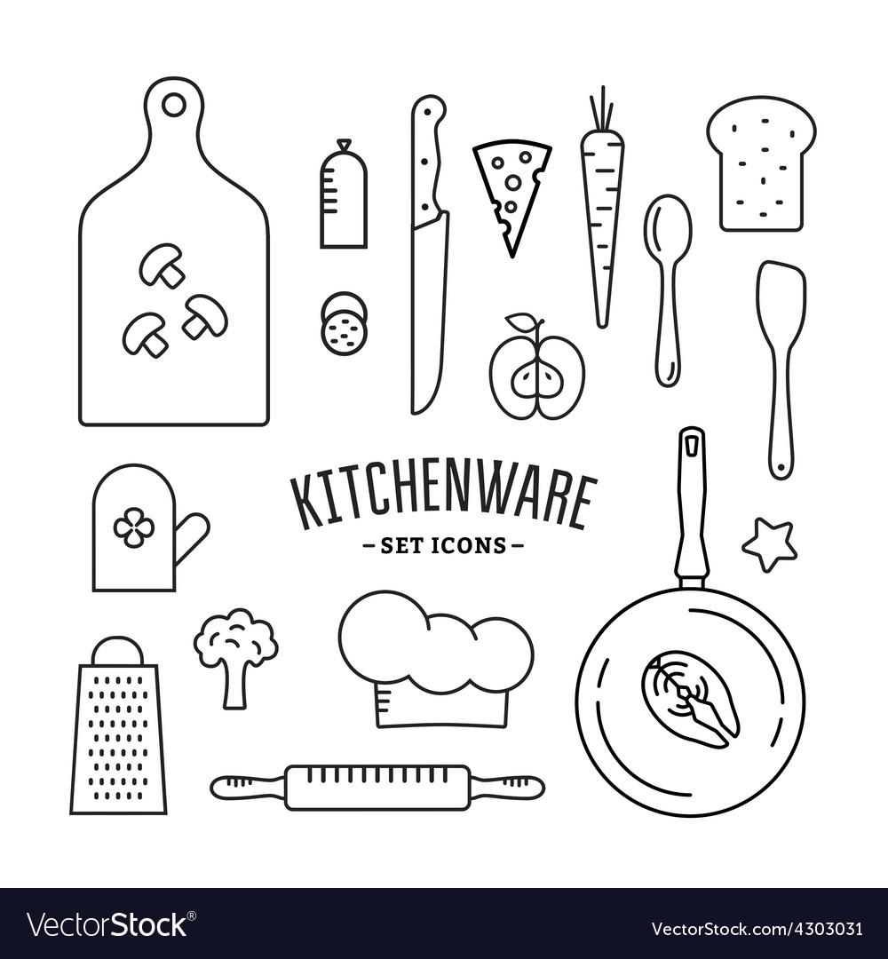 Kitchenware vector | Price: 1 Credit (USD $1)