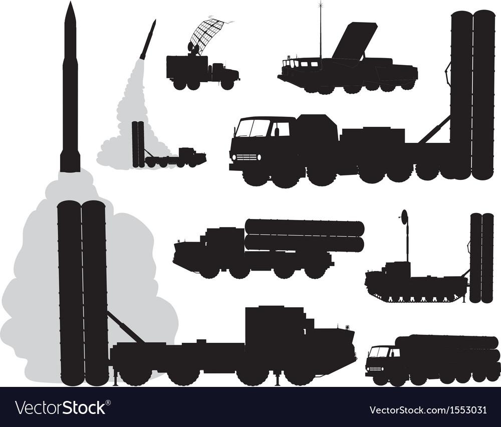 Military anti-air vector | Price: 1 Credit (USD $1)