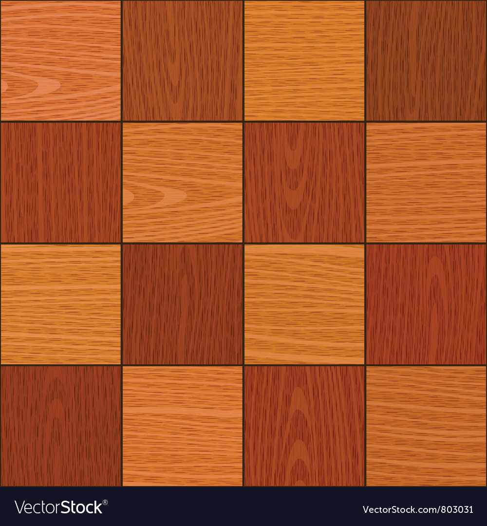 Seamless oak square chess like parquet texture vector | Price: 1 Credit (USD $1)