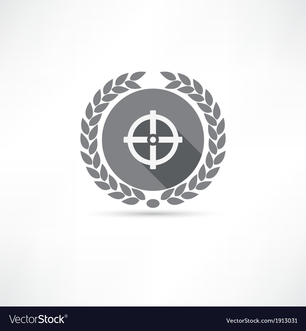 Sight icon vector | Price: 1 Credit (USD $1)