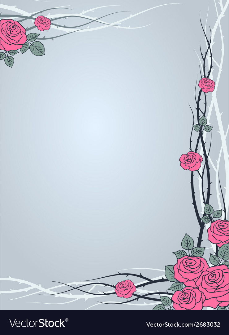 Roses winter vector | Price: 1 Credit (USD $1)