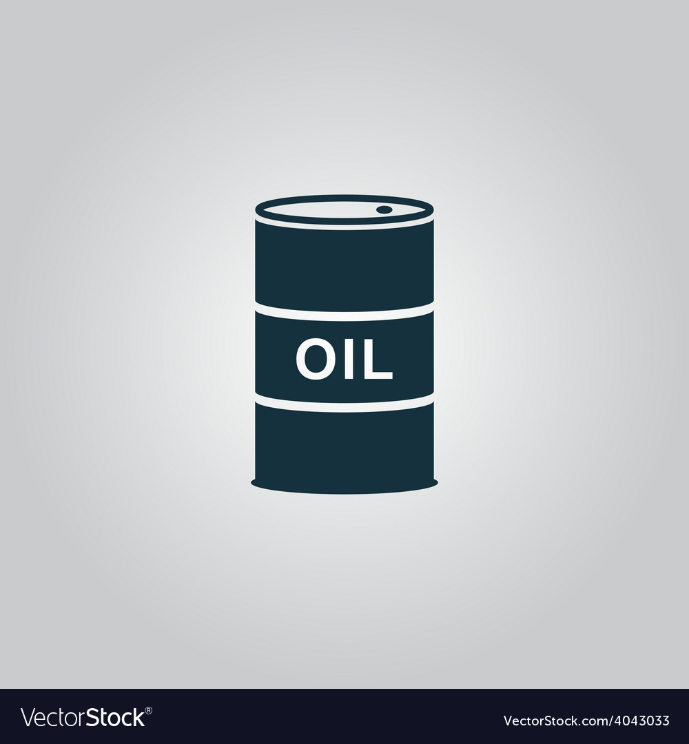 Barrels of oil icon vector | Price: 1 Credit (USD $1)