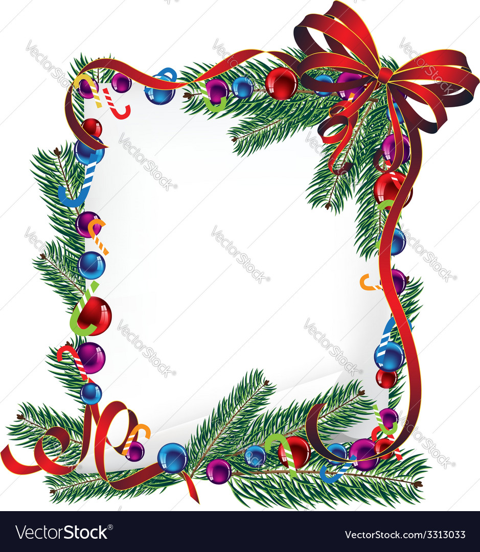 Bright christmas poster vector | Price: 3 Credit (USD $3)