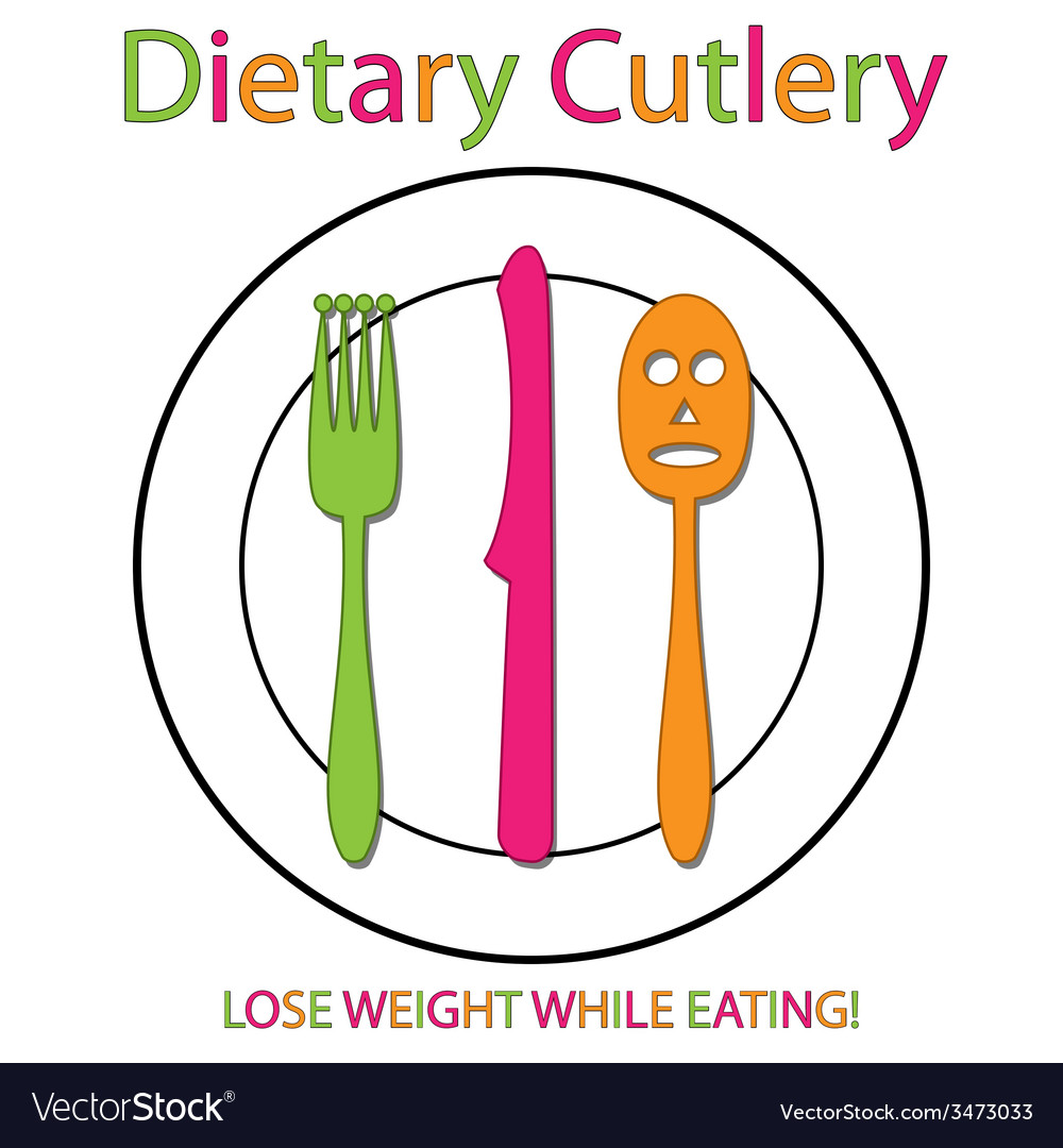 Dietary cutlery vector   Price: 1 Credit (USD $1)
