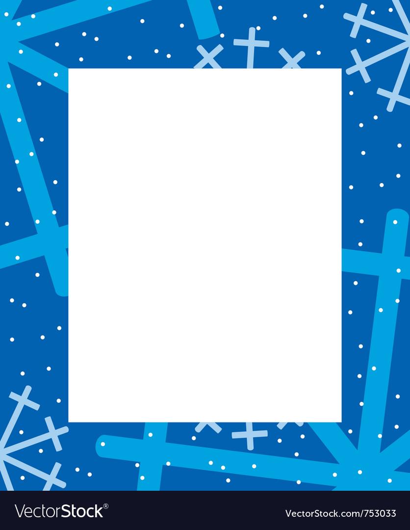 Frame winter vector | Price: 1 Credit (USD $1)
