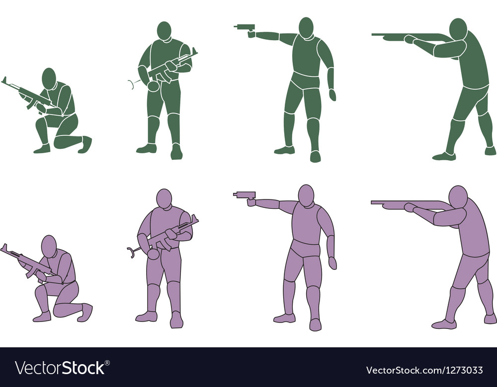 Silhouette weapons vector | Price: 1 Credit (USD $1)